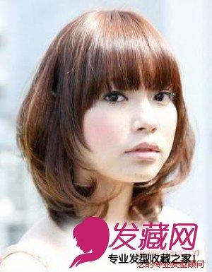 大圆脸适合的发型,适合大圆脸的发型图片