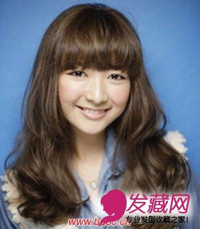 卷卷发发型图片 韩式微卷长卷发发型 微卷发型女中长发韩式-发型图图片