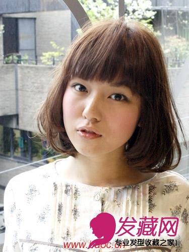 夏季可爱中长发型,妩媚动人的中长发(3)