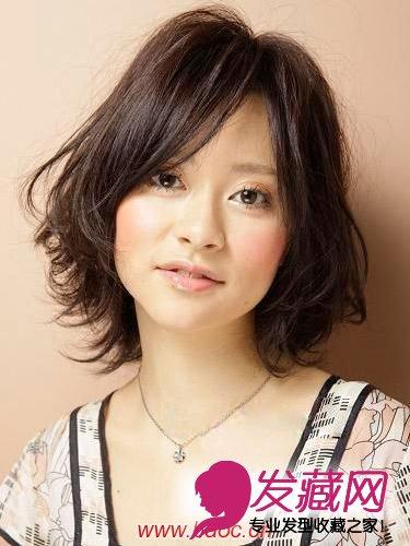 夏季可爱中长发型,妩媚动人的中长发(5)