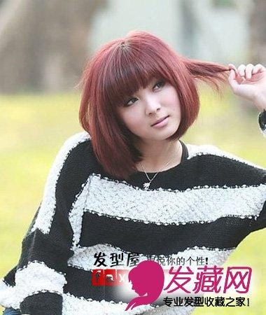 今年最流行的短发发型(4)图片