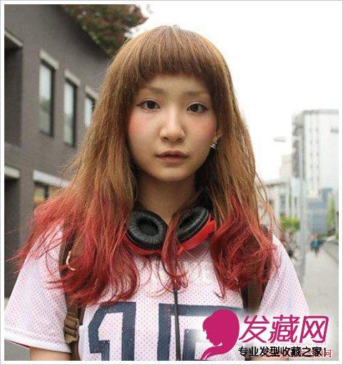 发型怎么搭显瘦 →90后女生韩式发型设计 清纯可爱学院风 →女学生
