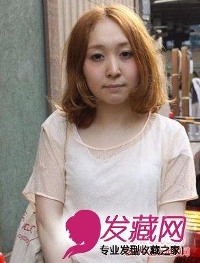甜美俏皮的披肩长卷发发型 简单发型扎法清 →日本女生学生丸子头