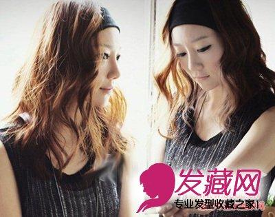 中长发烫发发型图片 甜美又浪漫 →精致的双马尾辫编发 9款可爱发型