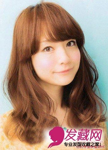圆脸适合的发型摆脱肥胖,圆脸适合什么发型(5)