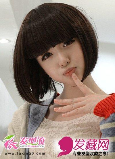 可爱bobo头 活泼俊俏小女生(3)