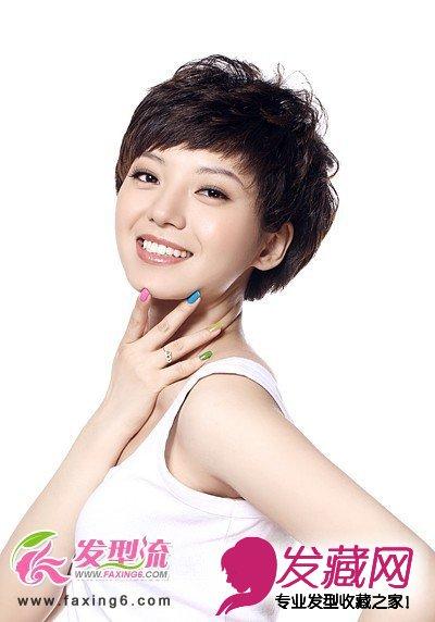 清新短发发型 彰显俏丽女人味(2)