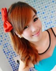斜刘海发型设计  今年最流行的发