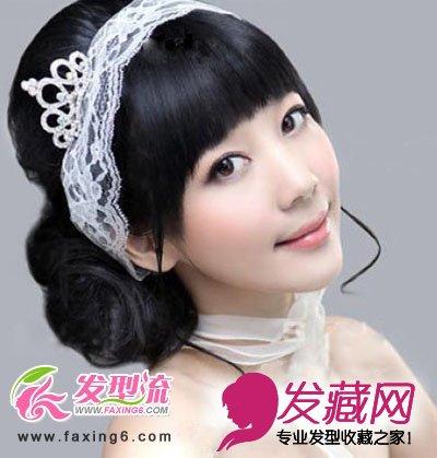 最新浪漫唯美新娘发型(5)图片