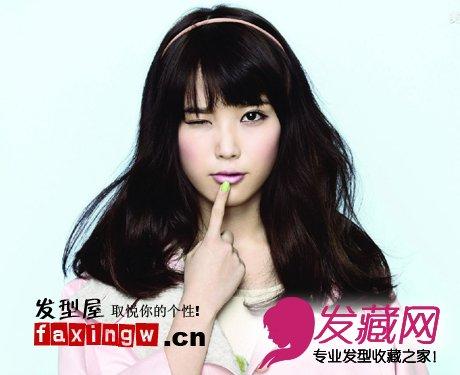 发型网 发型设计 明星发型 > iu李智恩图片 李智恩百变可爱圆脸发型