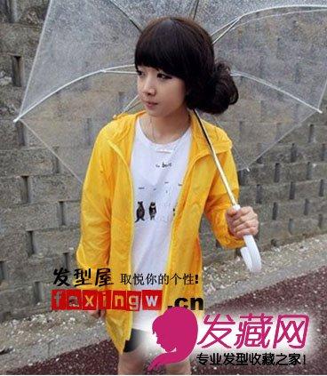 【图】春夏季节韩国小女生发型图片