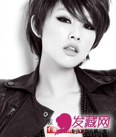 《爱情三贱客》主演李昕岳帅气短发发型酷劲十足