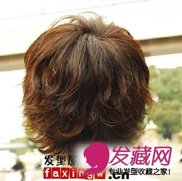 四款立体感男生烫发发型做型男(2)图片