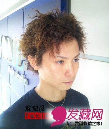 五款日系男士锡纸烫发型 不一样帅气与个性图片