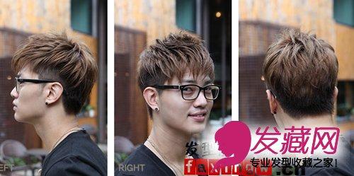 最新韩式男生纹理烫发型 打造阳光帅气的你(6)图片