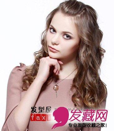 女生卷发发型 > 夏季女生卷发发型时尚甜美度up(3)  导读:芭比娃娃图片