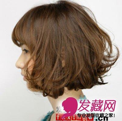 速学甜美扎发教程 女生中短卷发怎么扎 →短发弄什么发型好看 齐