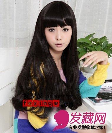 女生最新卷发发型设计(6)