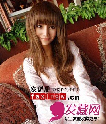 2013年最流行的女士卷发 4 女生卷发发型 发藏网