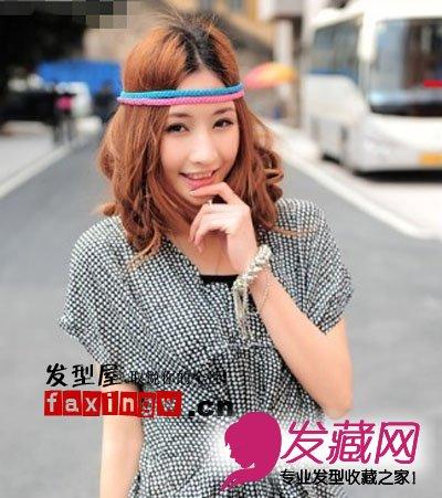 现在的中长发 发型属于多元变幻的一种类型, 不管是可爱,野性,气质等