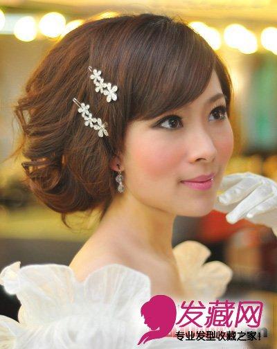2013年最新韩式新娘发型图片分享