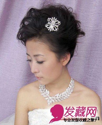 2015年最新当天结婚新娘发型推荐(5)