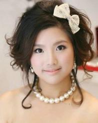春季最新唯美浪漫新娘卷发发型