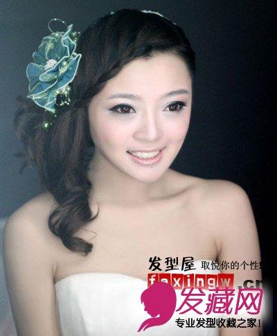 2013年最新新娘盘发抢先发布图片