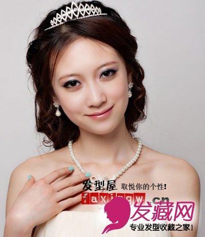 最新韩式新娘发型 轻松做皇冠公主(4)