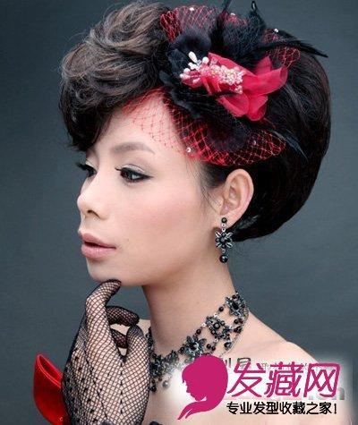 高贵典雅中式风味新娘盘发(5)图片
