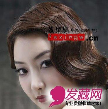 新娘复古发型 短发最抢镜(2)图片