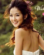 发型/韩式新娘发型晚装优雅出席