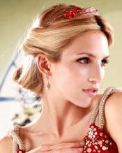 发型/简单晚装发型 演绎时尚新娘
