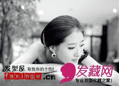 韩式新娘长发发型 刮起婉约风(2)图片