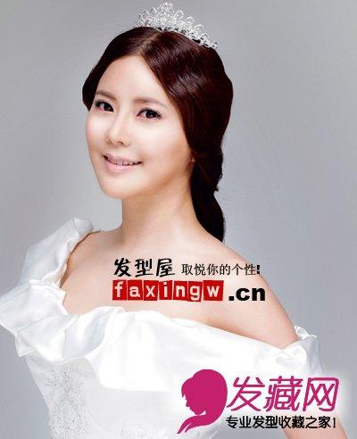 完美婚礼从头发做起 最新韩式新娘发型(5)图片
