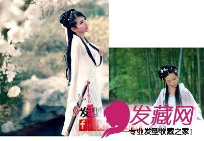 【图】古装新娘发型 打造古典韵味之美(2)