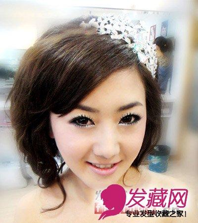 韩式新娘发型设计 拍婚纱照一样美(2)图片