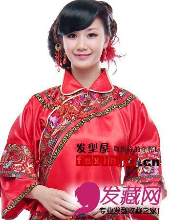 古装新娘发型成就古典唯美新娘(2)图片