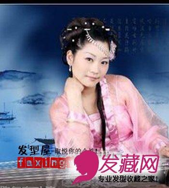 古装新娘发型成就古典唯美新娘(3)