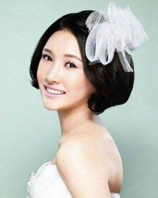 金秋韩式新娘发型 甜美浪漫为主