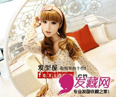 刘海 脸型 平刘海发型设计美美修脸型(6)