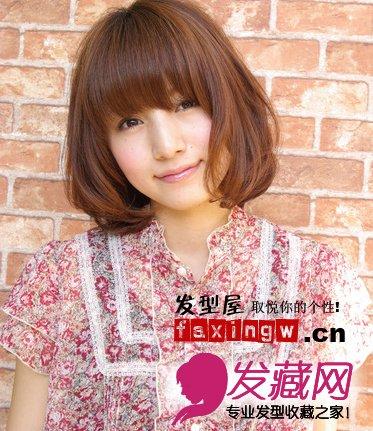 【图】日本最具人气波波头发型图片
