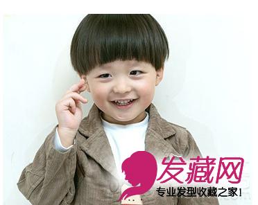 【图】帅气小男孩发型图片