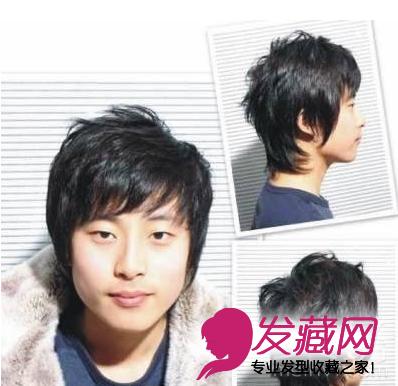 2015最新设计 大脸男生发型拯救方案