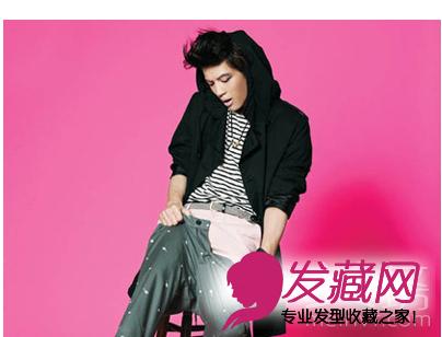 【图】最潮男生发型 韩国男明星的发型发型