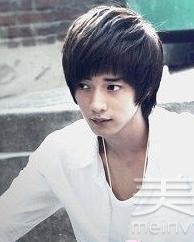 韩式男生斜刘海bob发型 最潮街头风