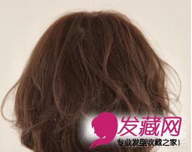 2015最流行短发 韩式短发烫发发型(3)