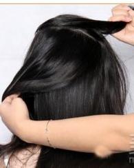 花样繁复的盘发发型