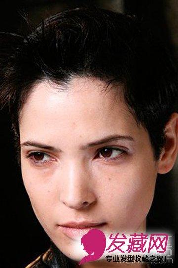 2015最int台短发发型 鲜明个性短发(2)