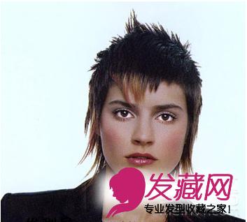 2015个性短发 沙宣短发烫发发型图(3)图片